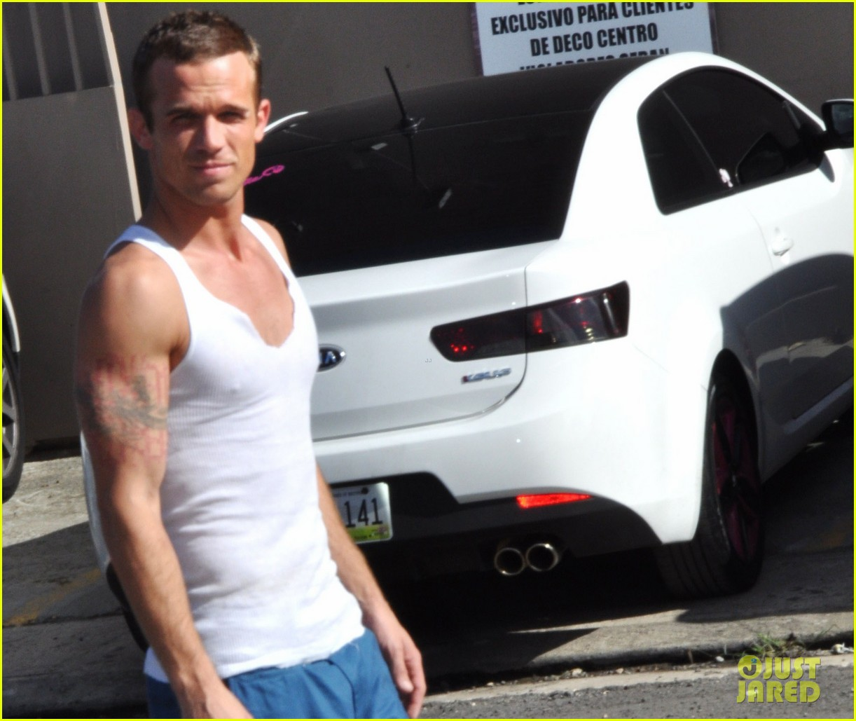 cam gigandet in the blood begins filming 042773345
