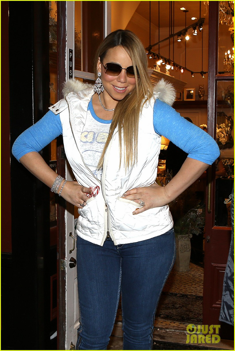 mariah carey shopping in aspen 02