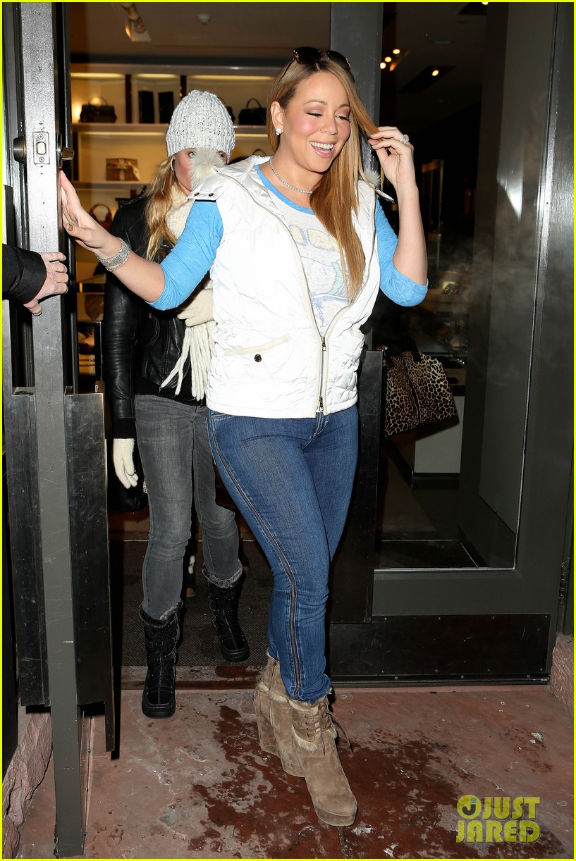 mariah carey shopping in aspen 052779251