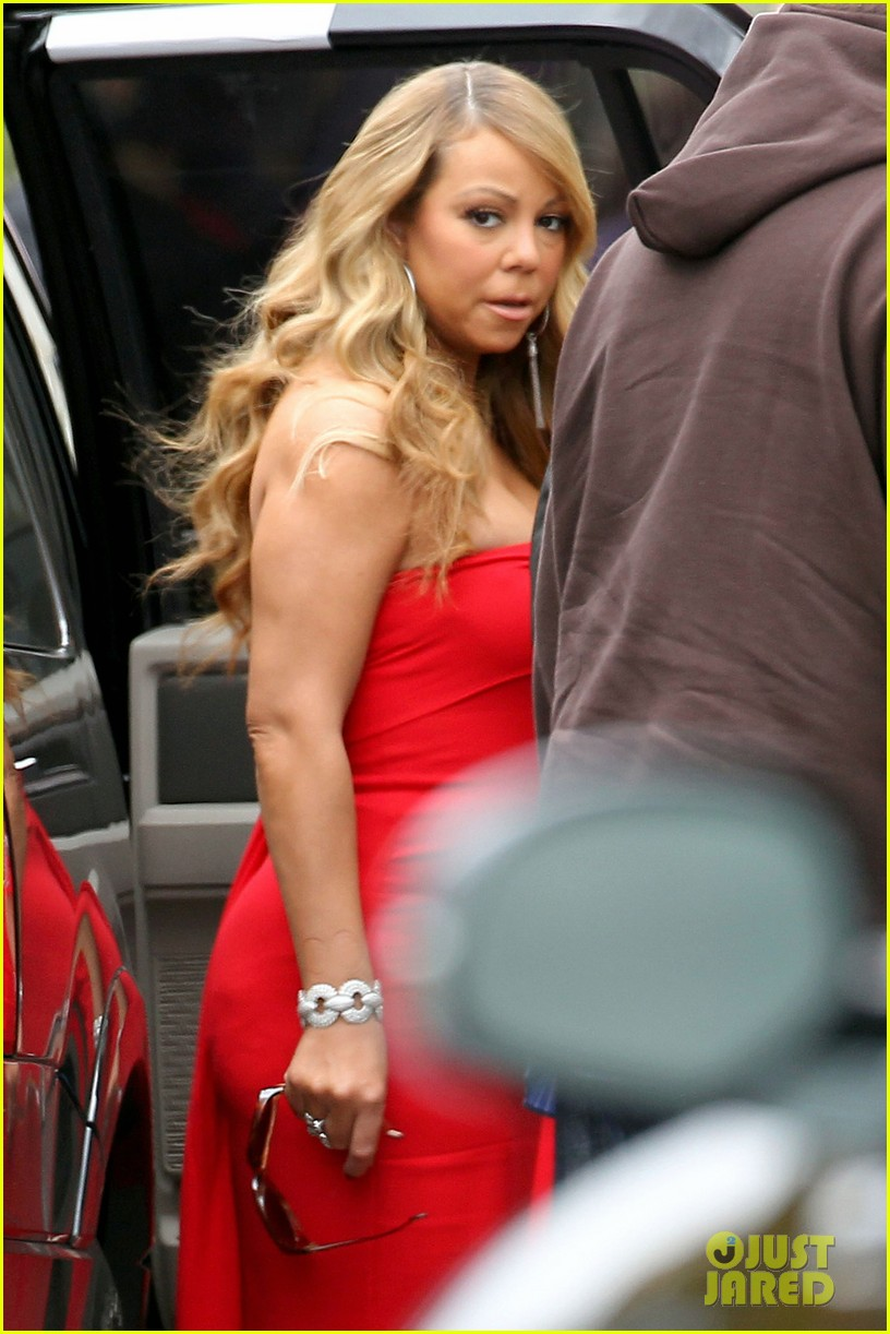 mariah carey nicki minaj american idol filming 072774658