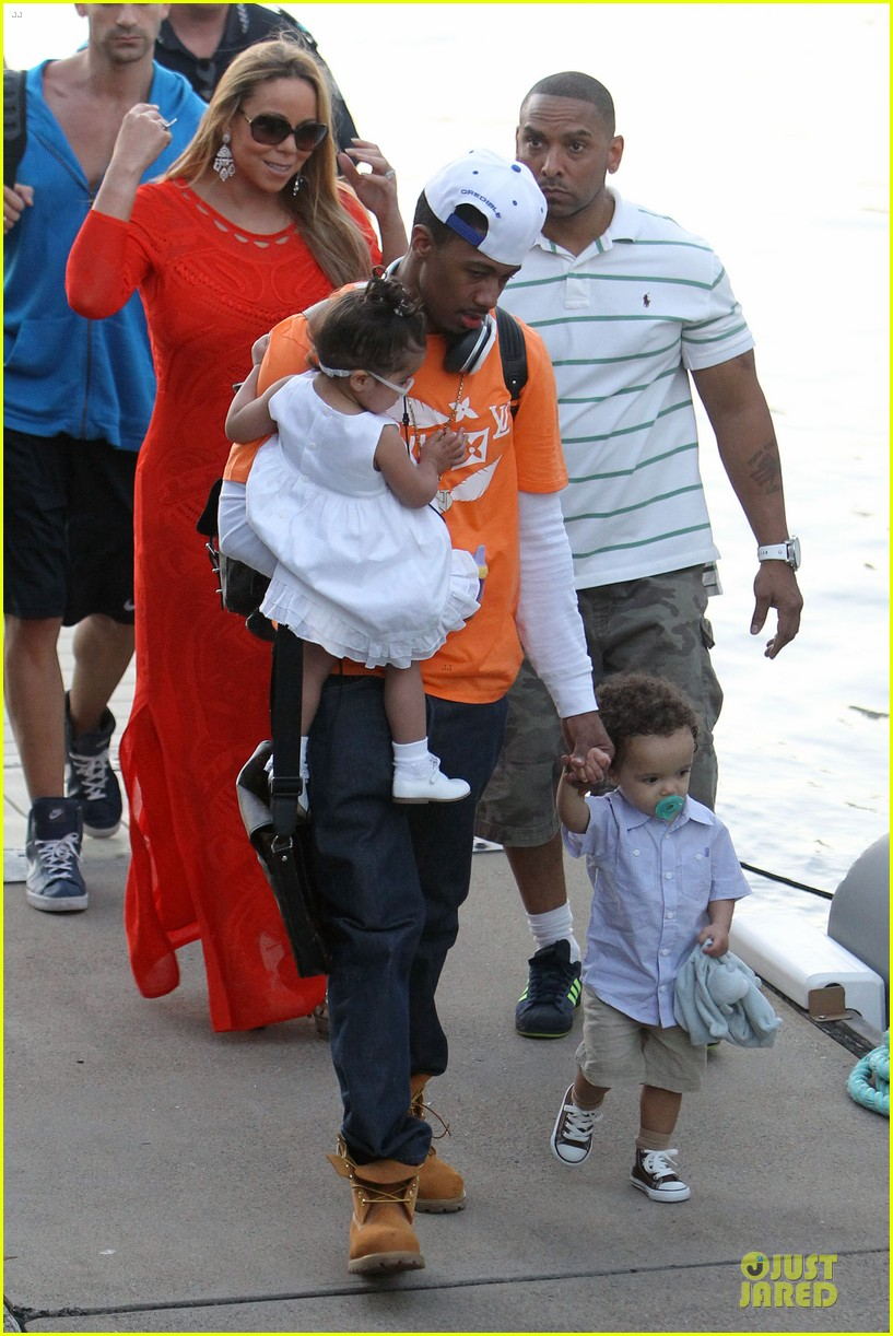 mariah carey & nick cannon australia sailing with the twins 012782019