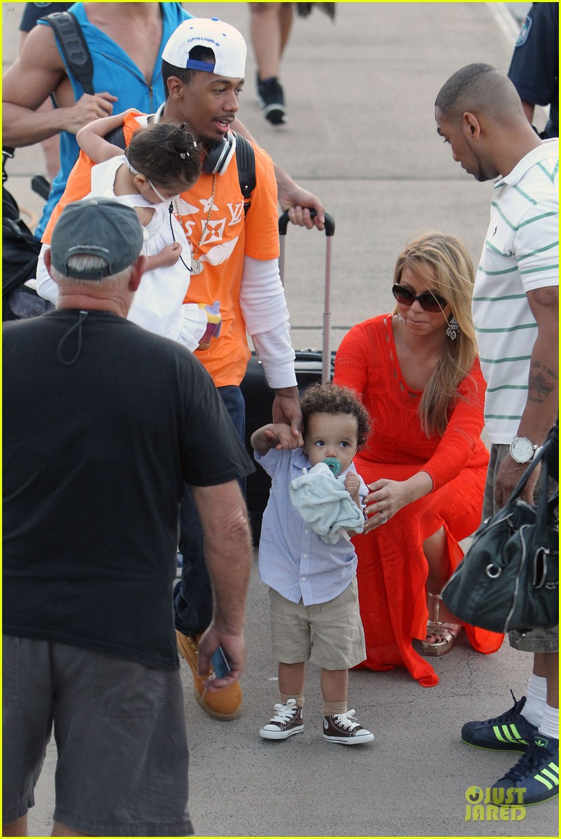mariah carey & nick cannon australia sailing with the twins 132782031