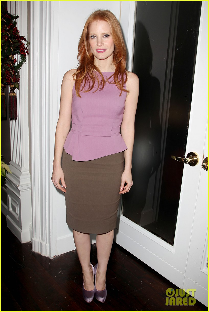 jessica chastain zero dark thirty celebration lunch 252770486