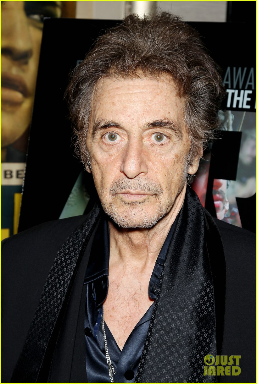 jessica chastain zero dark thirty screening with al pacino 13