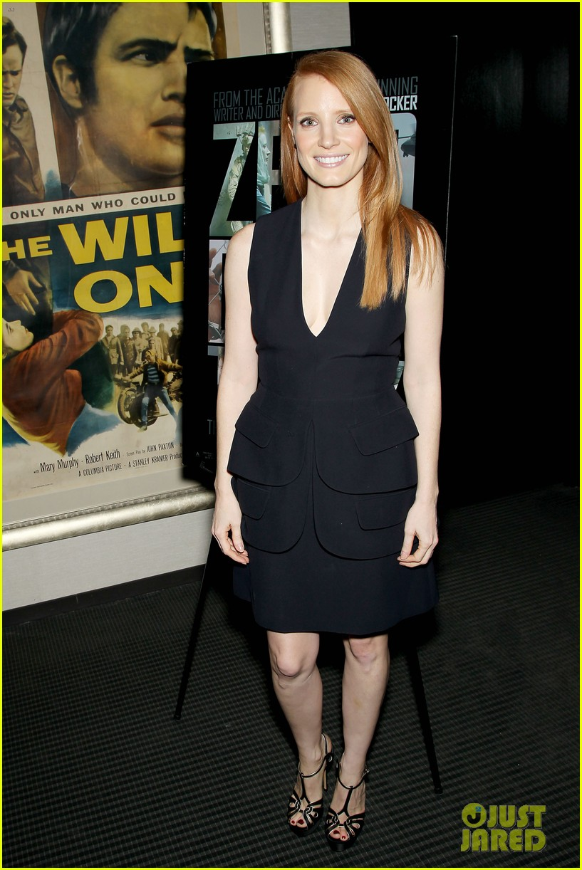 jessica chastain zero dark thirty screening with al pacino 152777836