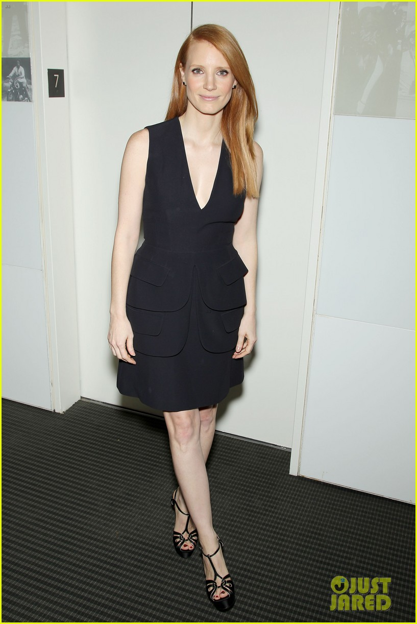 jessica chastain zero dark thirty screening with al pacino 172777838