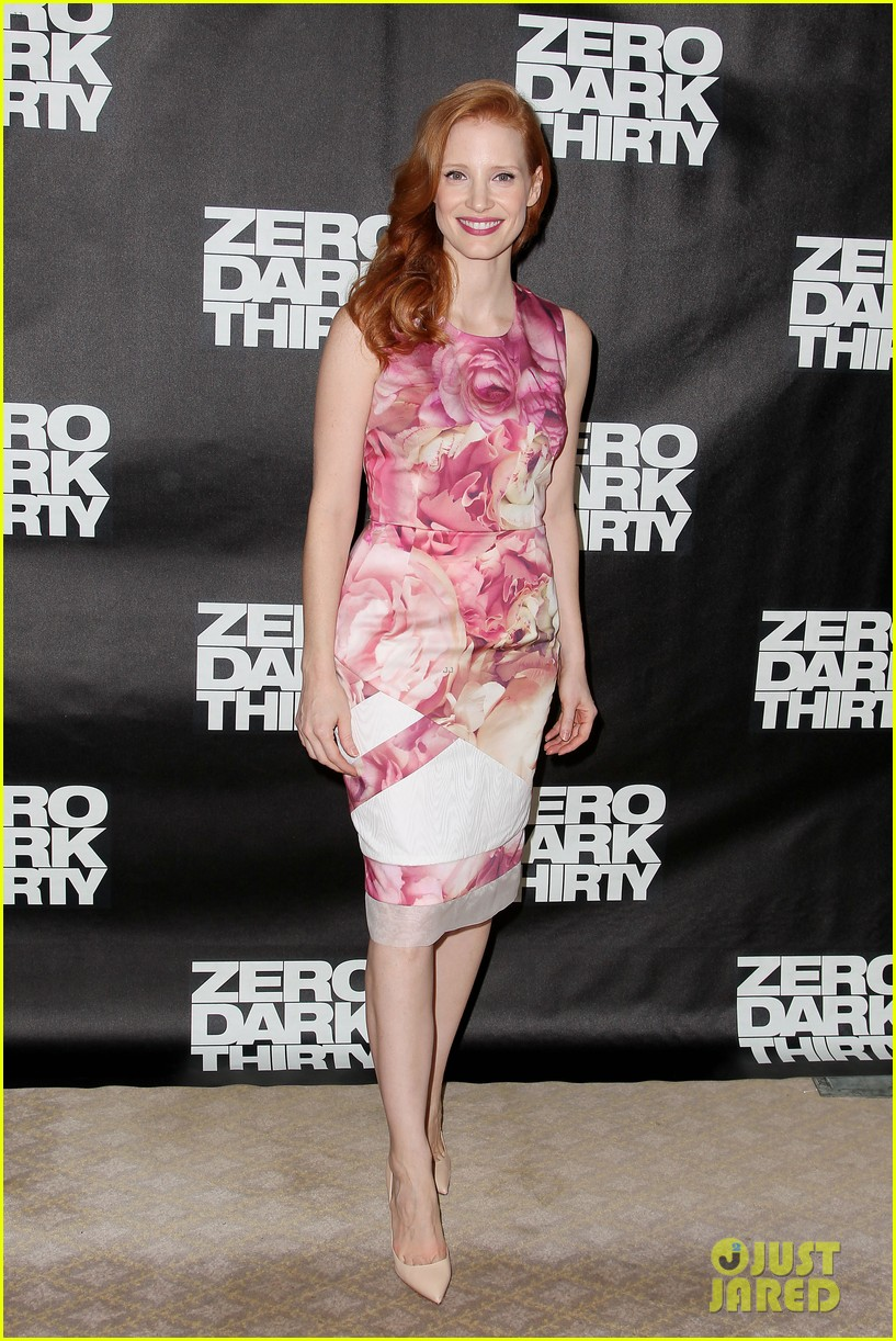 jessica chastain zero dark thirty promo in new york 012769020