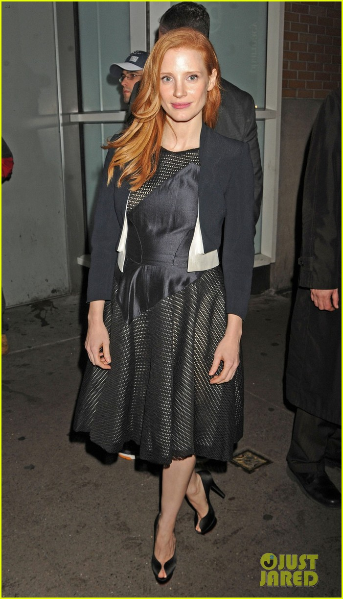 jessica chastain zero dark thirty promo in new york 032769022
