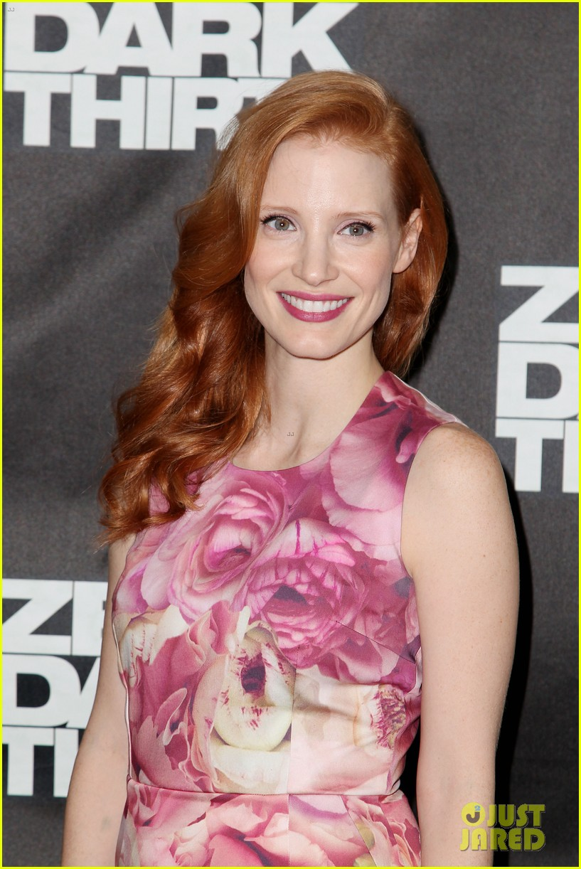 jessica chastain zero dark thirty promo in new york 192769038