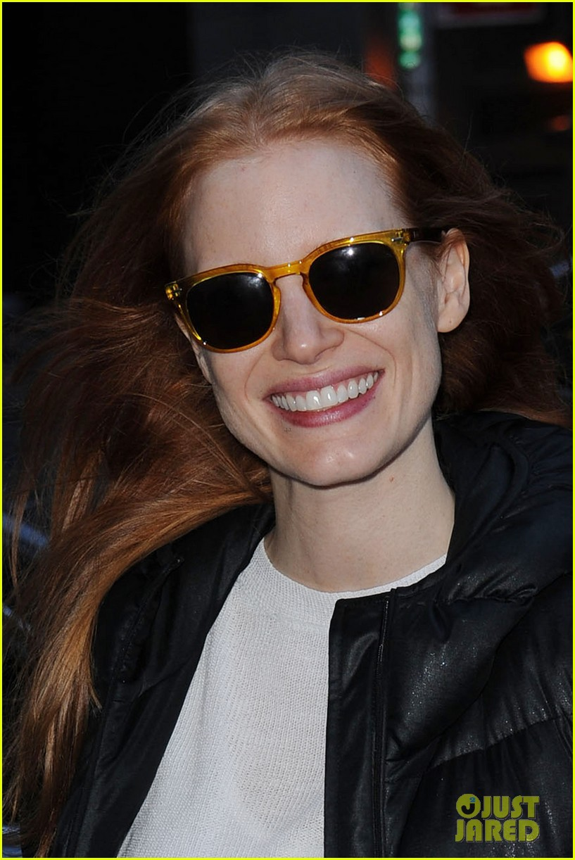 jessica chastain sunday show smiles 022782525