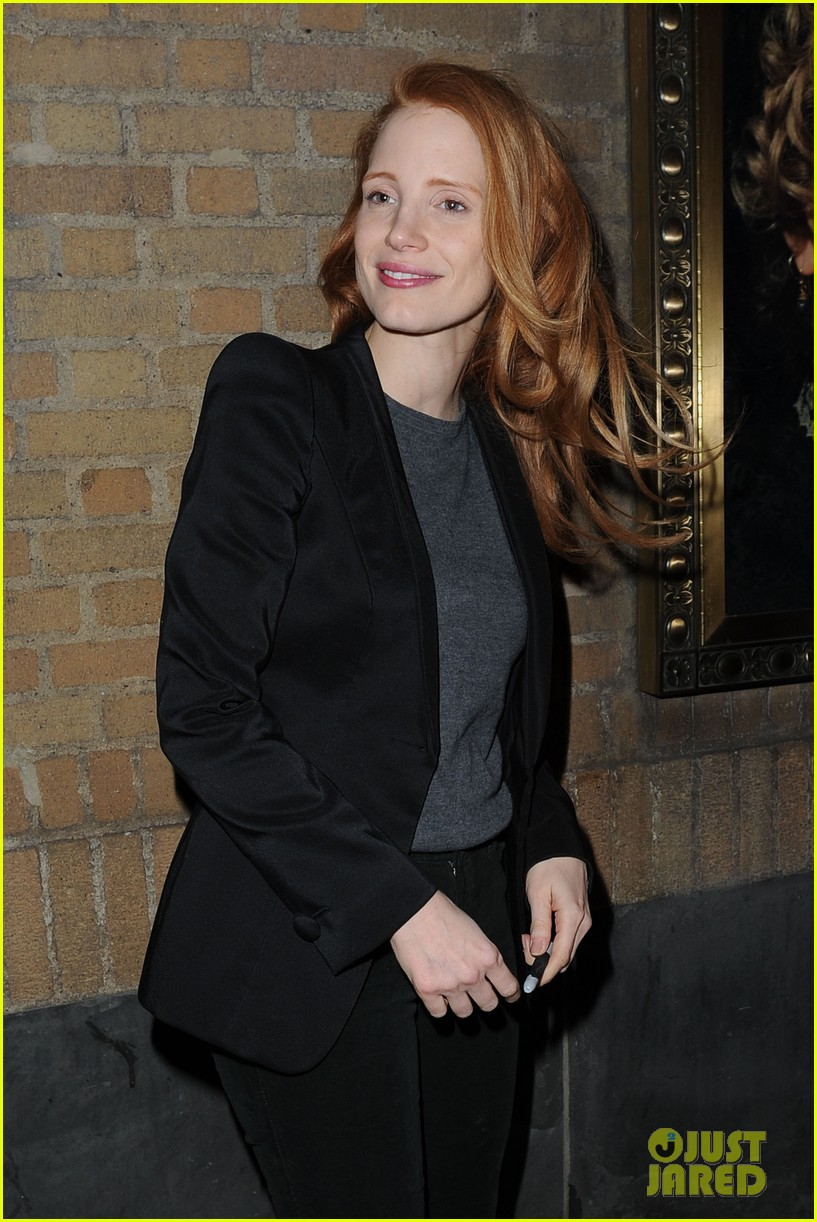 jessica chastain windswept at the heiress 062778730