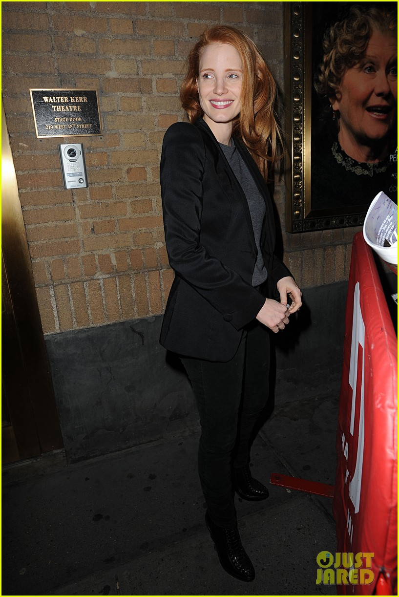 jessica chastain windswept at the heiress 082778732