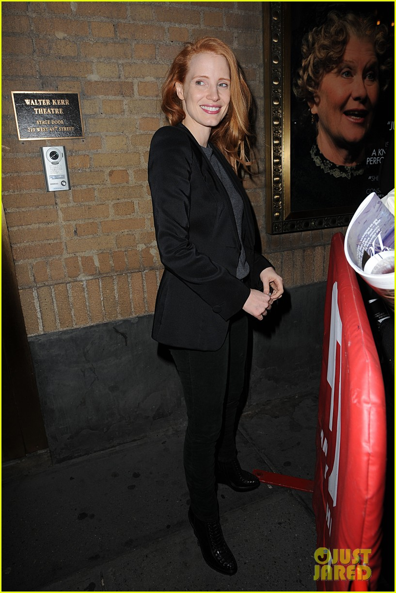 jessica chastain windswept at the heiress 092778733