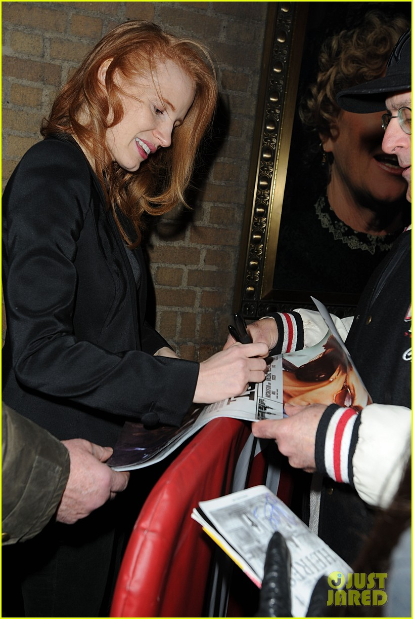 jessica chastain windswept at the heiress 10