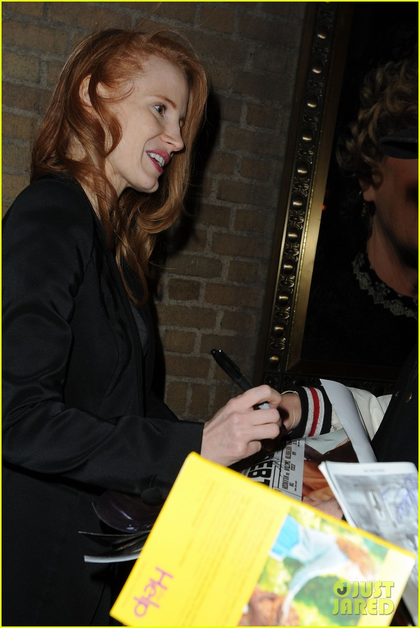 jessica chastain windswept at the heiress 11