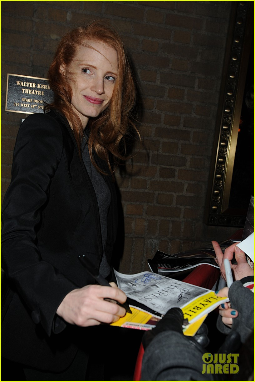 jessica chastain windswept at the heiress 122778736