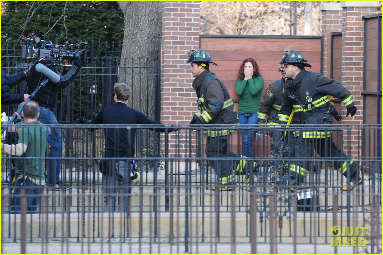 chicago fire filming 132767493