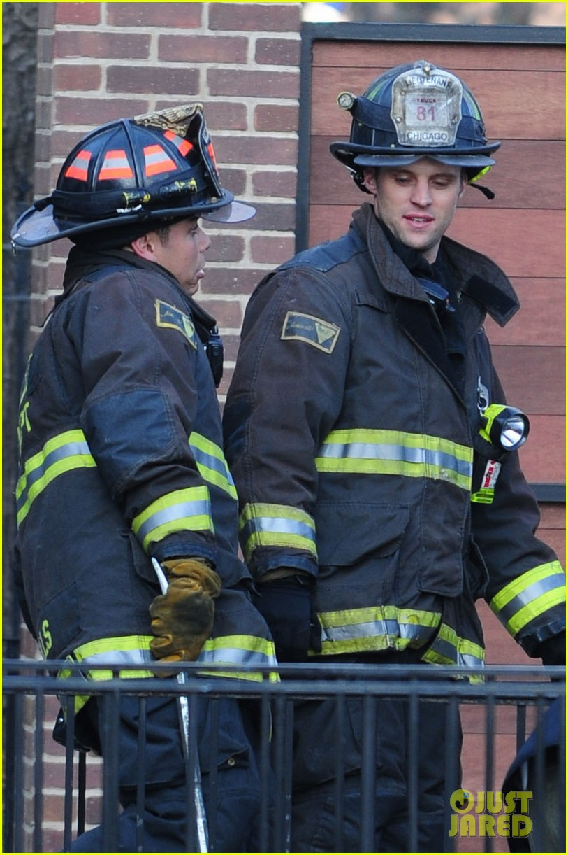 chicago fire filming 152767495