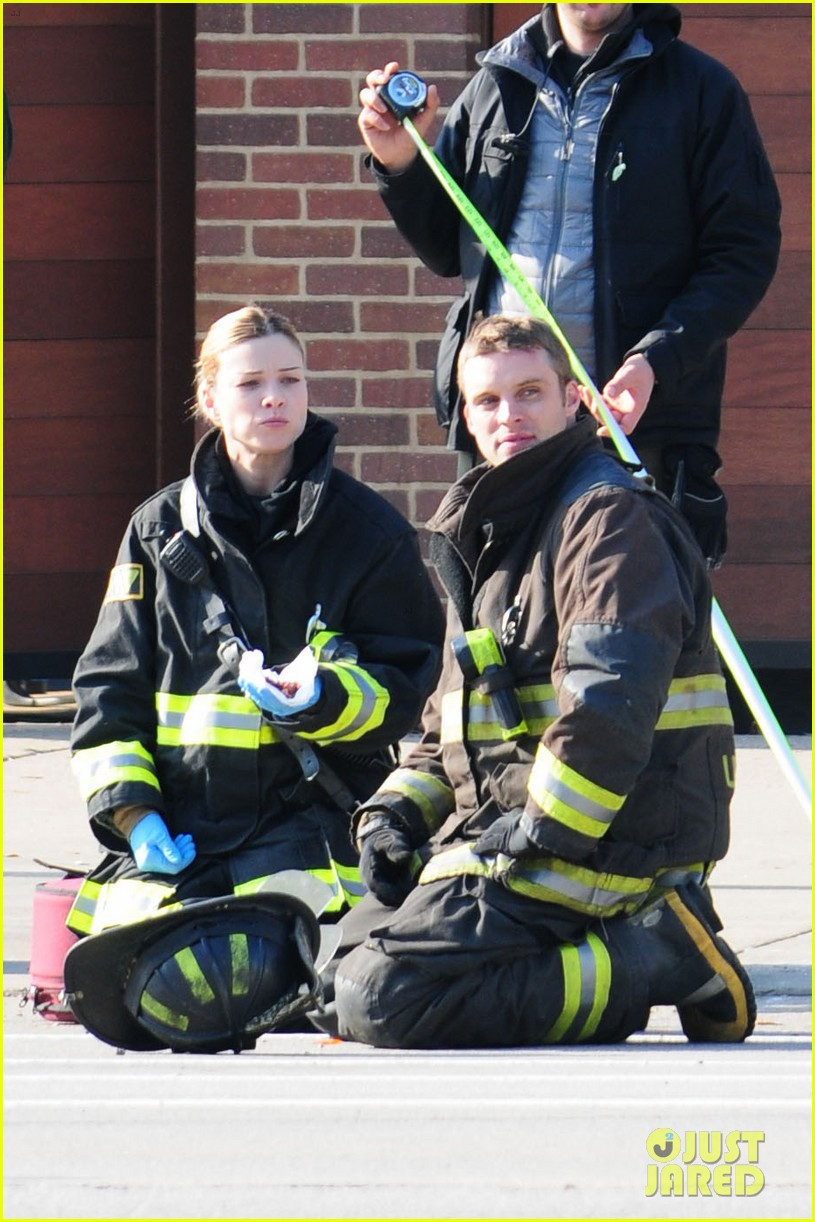chicago fire filming 182767498