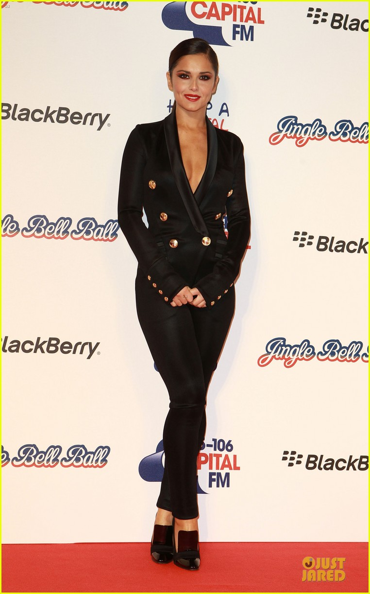 cheryl cole jingle bell ball attendee 03
