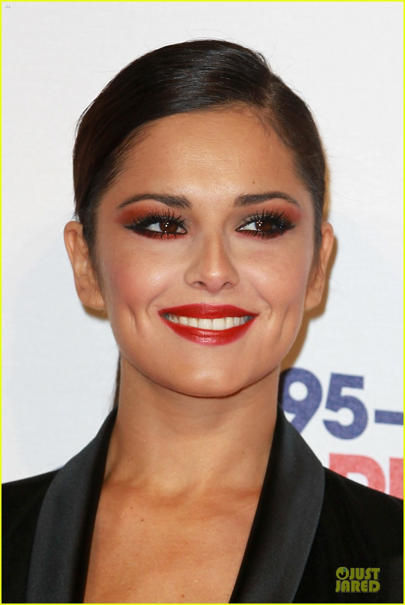 cheryl cole jingle bell ball attendee 092772583