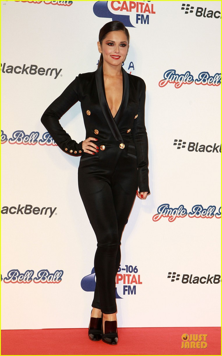 cheryl cole jingle bell ball attendee 102772584
