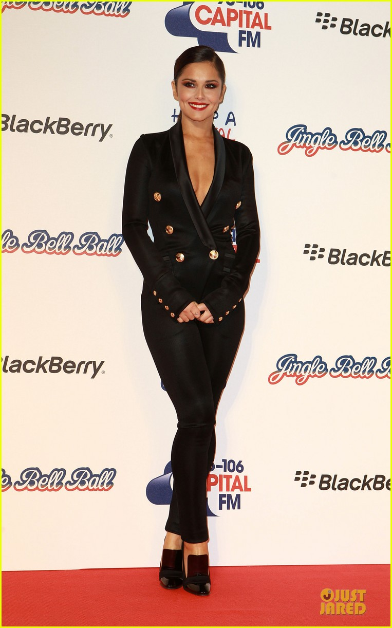 cheryl cole jingle bell ball attendee 112772585
