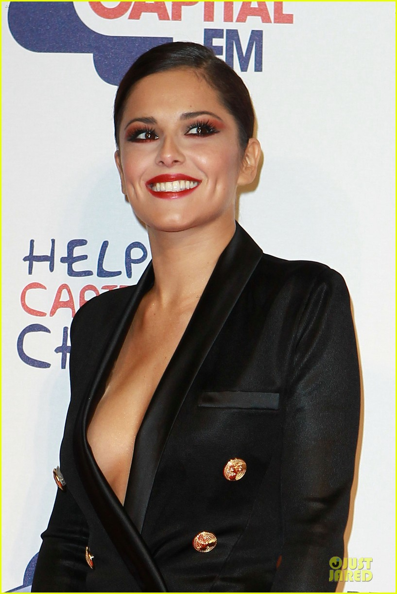cheryl cole jingle bell ball attendee 12