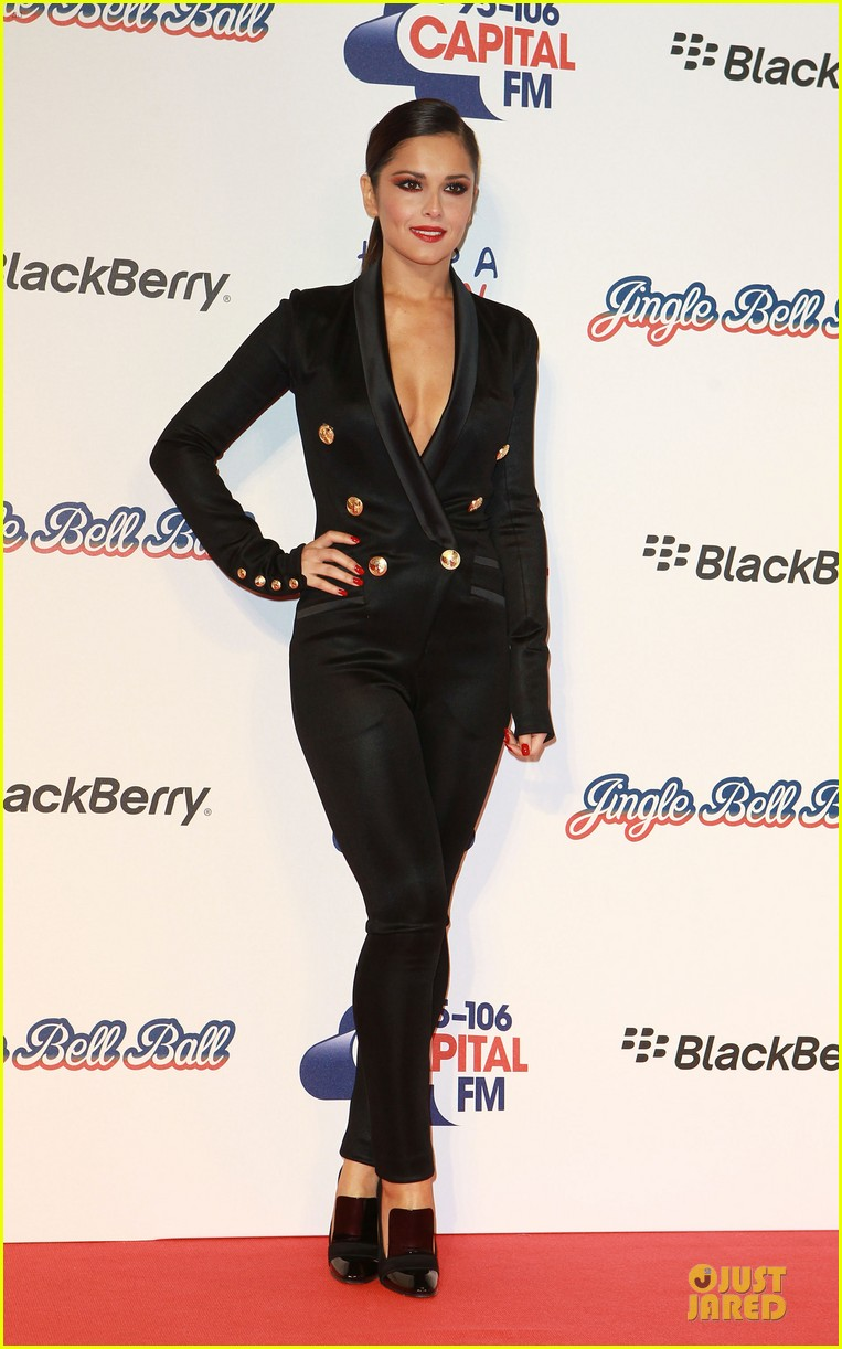 cheryl cole jingle bell ball attendee 13