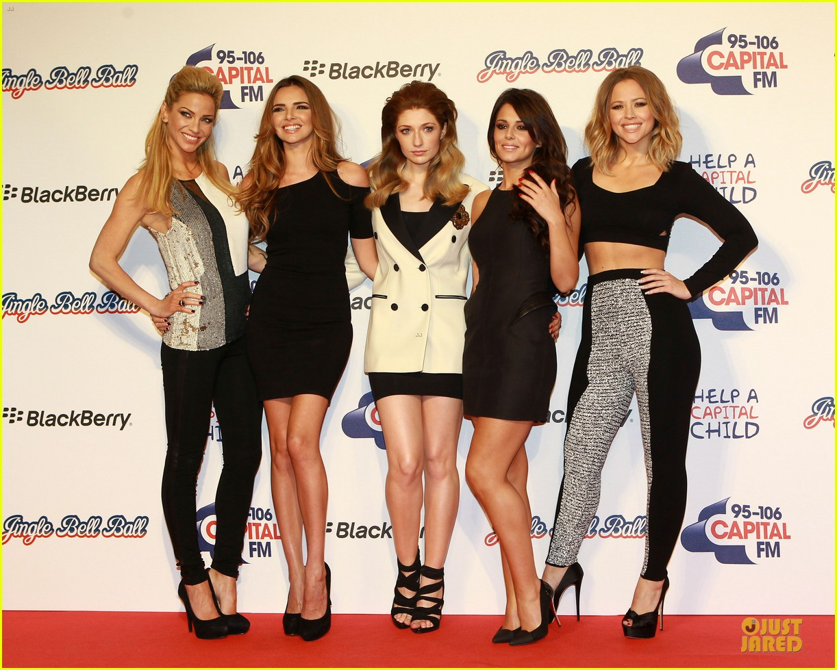 cheryl cole jingle bell ball attendee 20