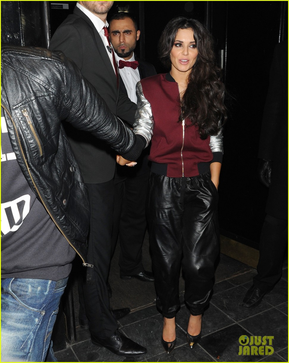 cheryl cole tre holloway rose club lovers 10