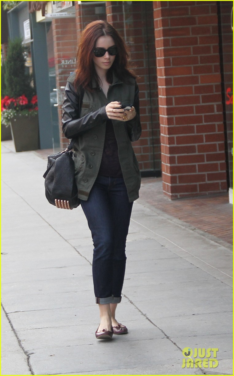 lily collins beverly hills holiday shopping 012771215