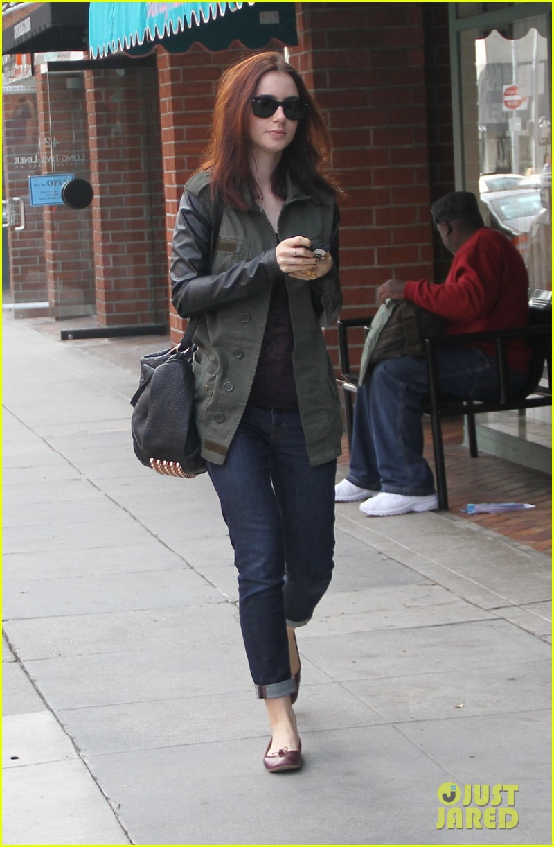 lily collins beverly hills holiday shopping 042771218