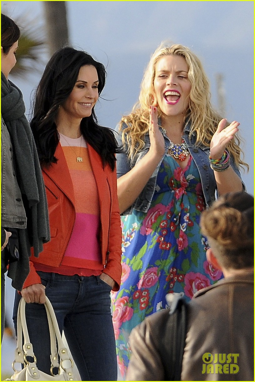 courteney cox cougar town filming 052779452