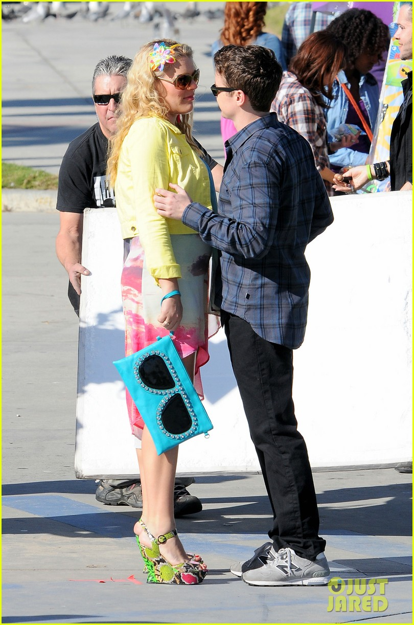 courteney cox cougar town filming 11