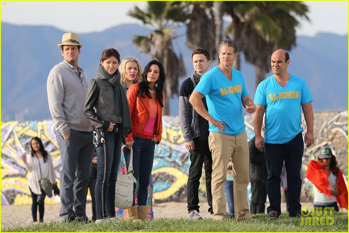 courteney cox cougar town filming 222779469