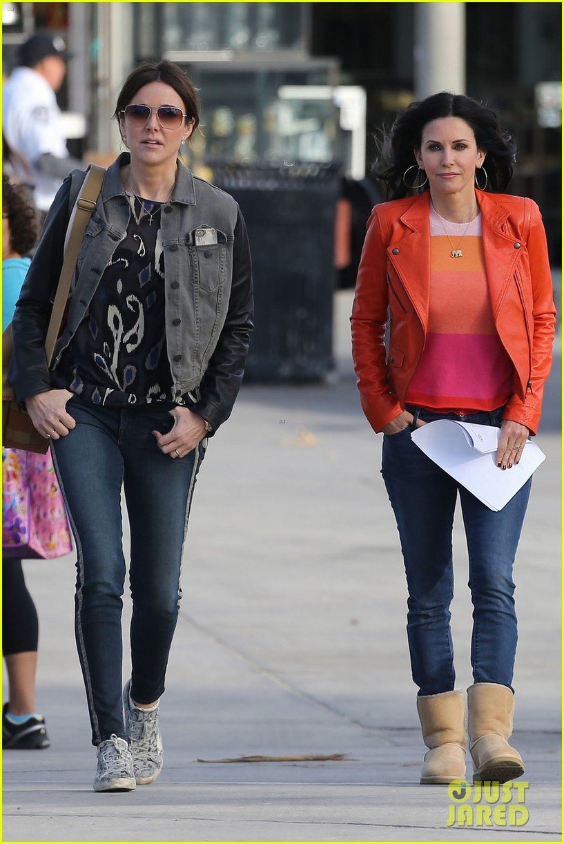 courteney cox cougar town filming 282779475