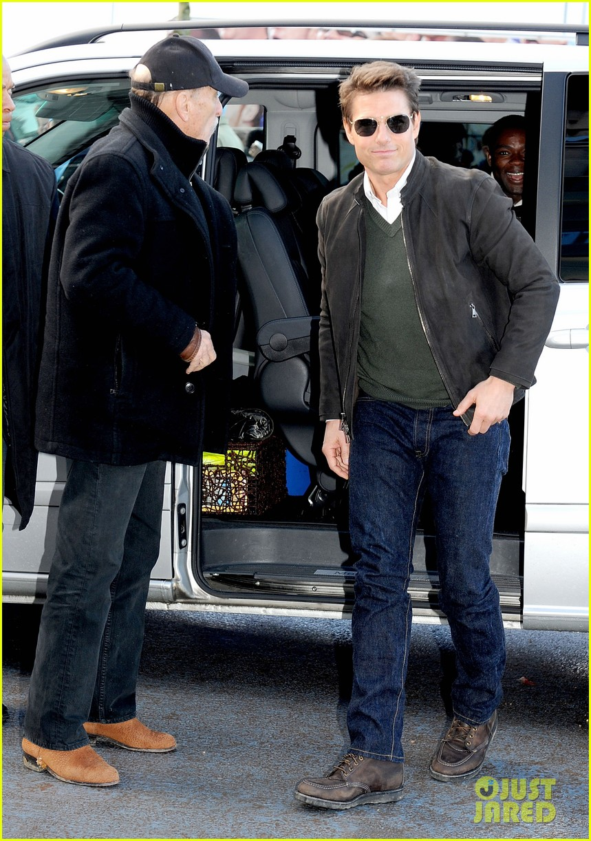 tom cruise jack reacher promotion at the manchester derby 012772403