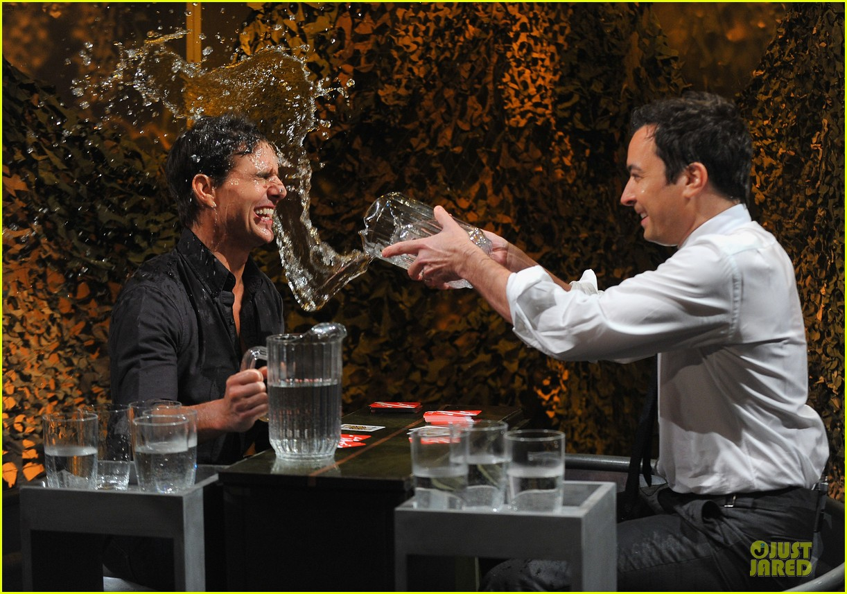 tom cruise water war with jimmy fallon 08