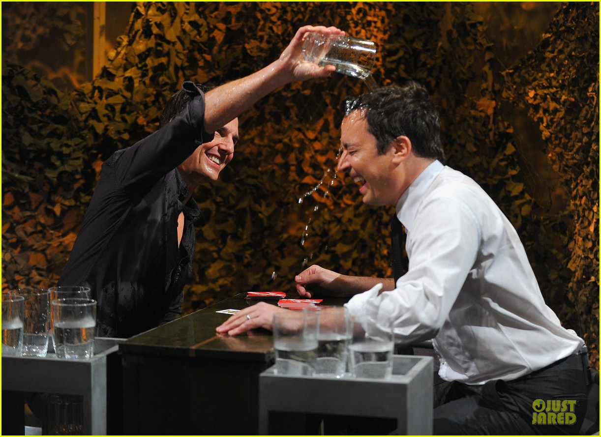 tom cruise water war with jimmy fallon 13