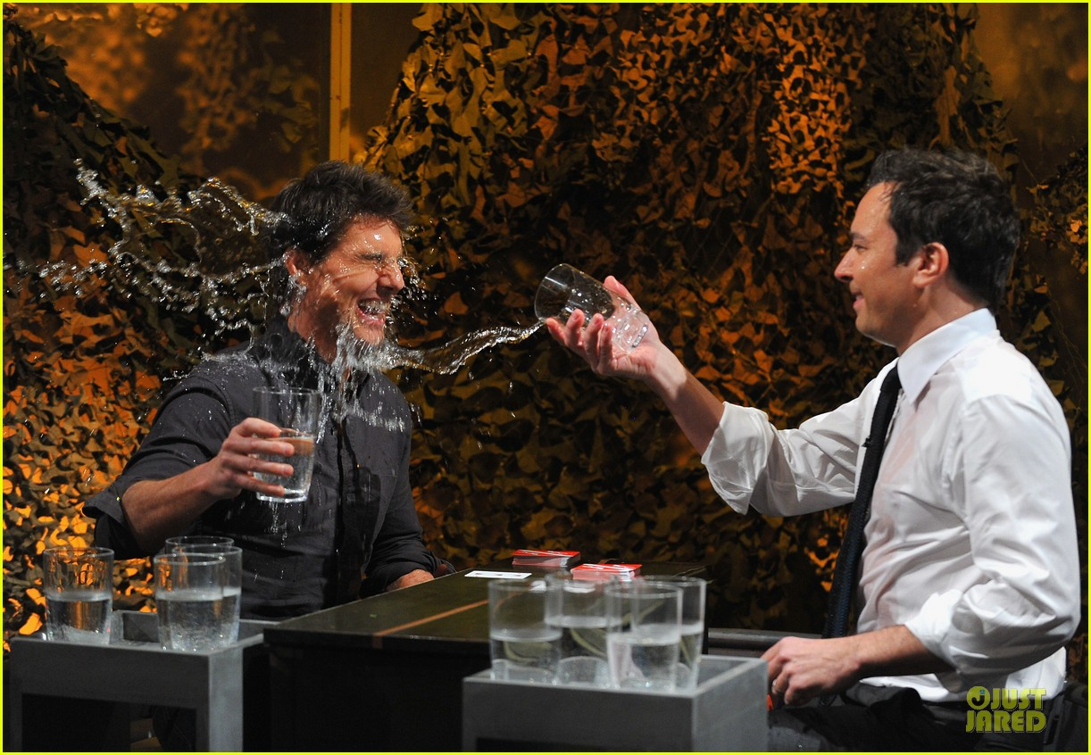 tom cruise water war with jimmy fallon 142778089