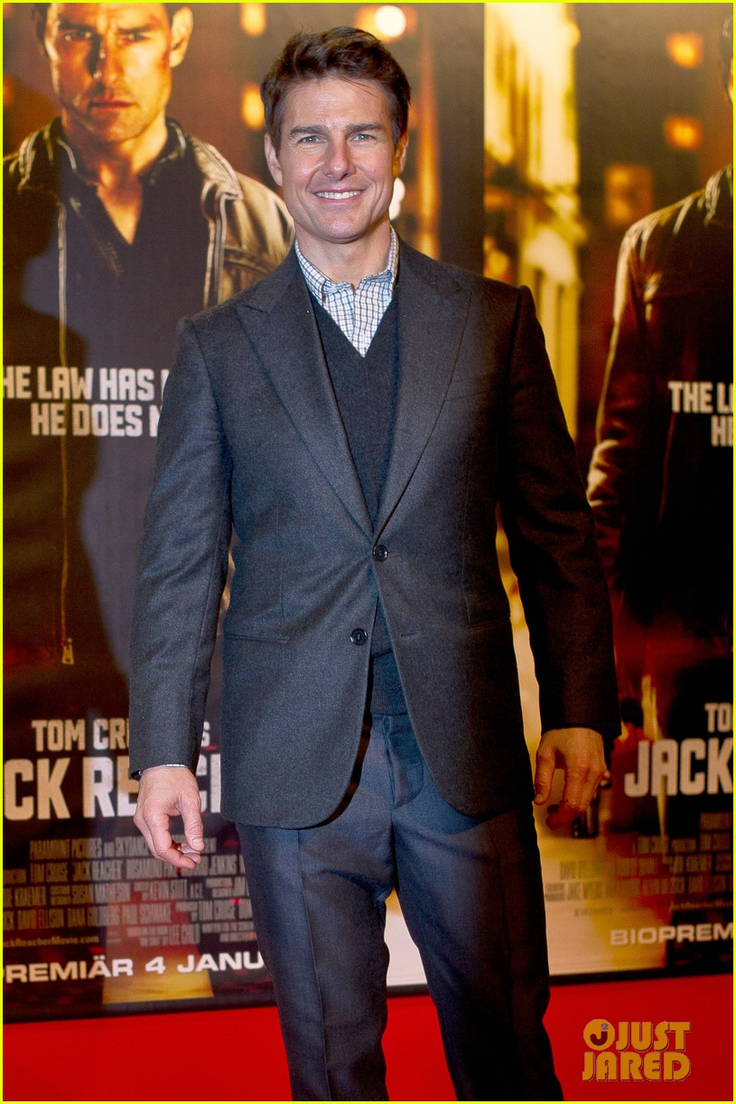 tom cruise jack reacher stockholm premiere 022774094