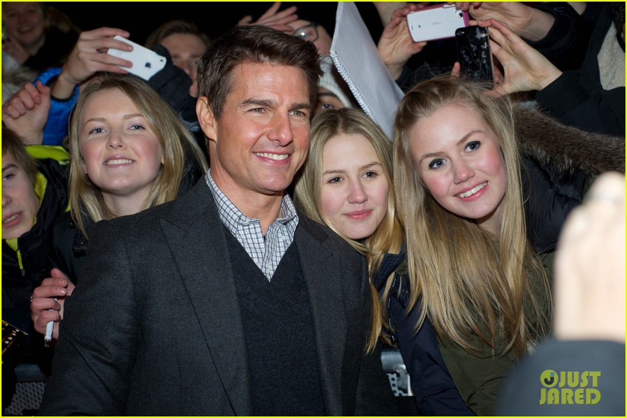 tom cruise jack reacher stockholm premiere 072774099