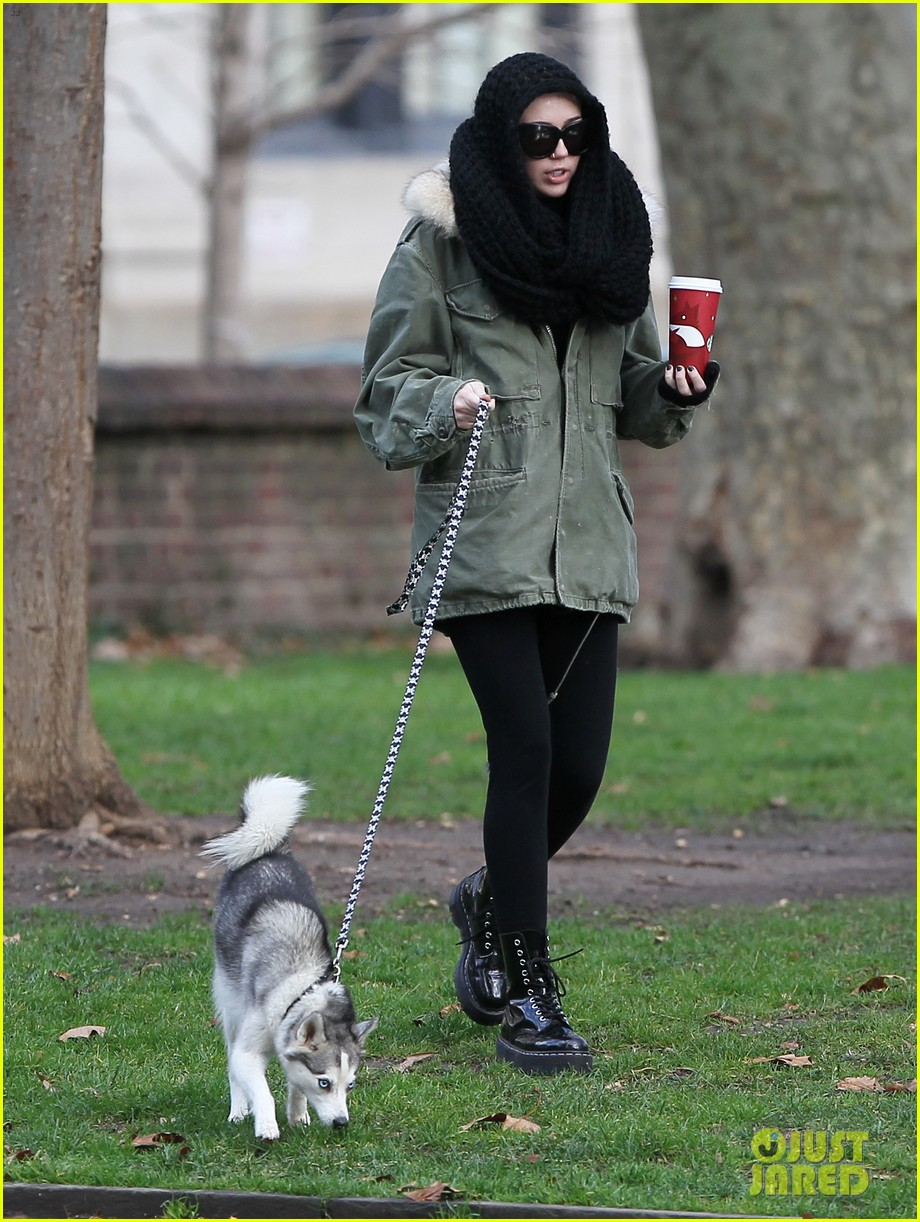 miley cyrus bundles up for philly dog walk 042777932