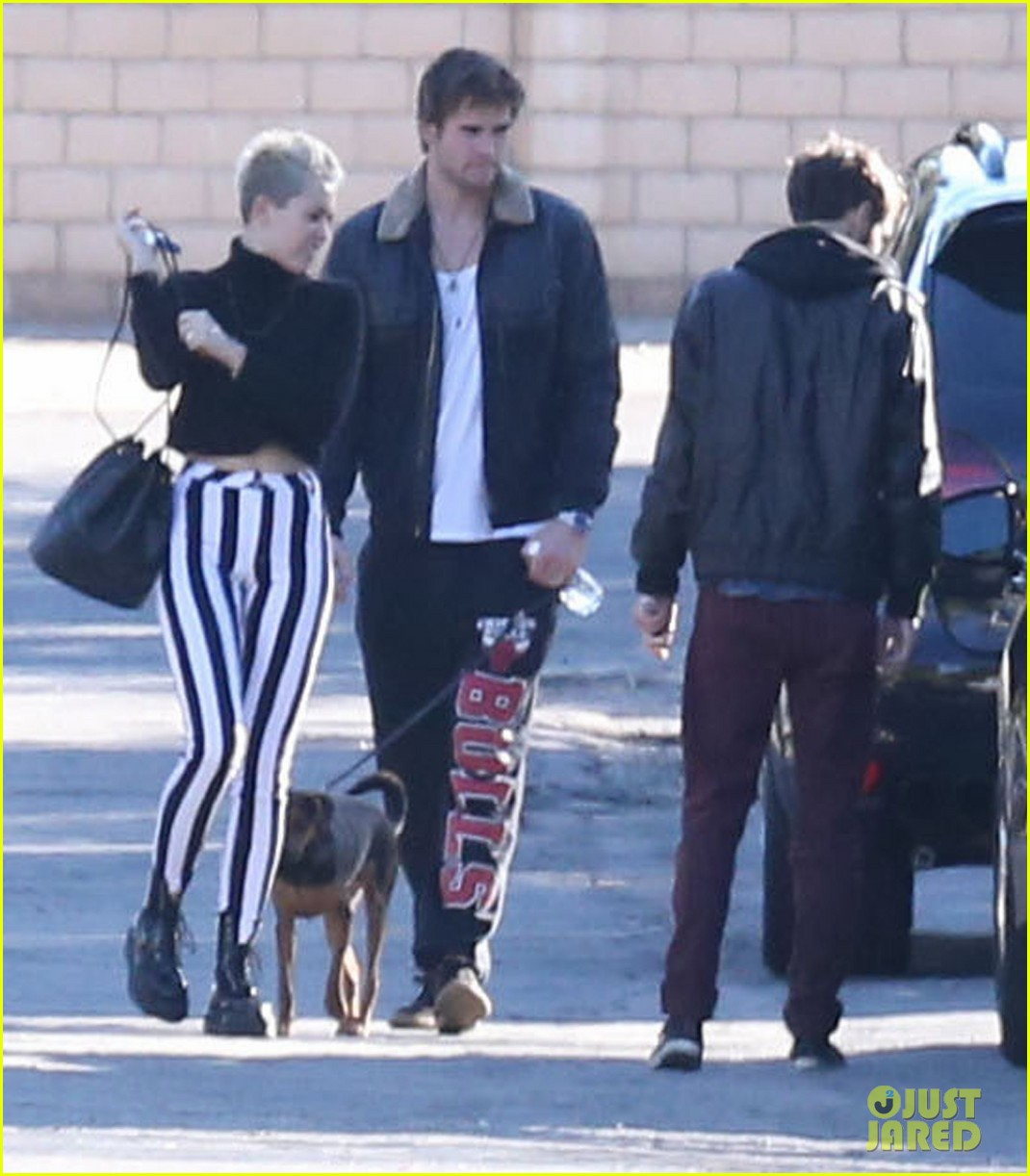 miley cyrus liam hemsworth post christmas family gathering 012781127