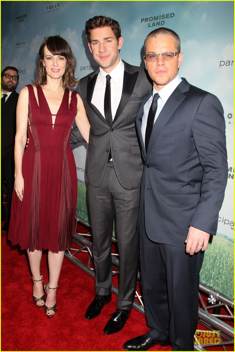 matt damon john krasinski promised land new york premiere 232769420