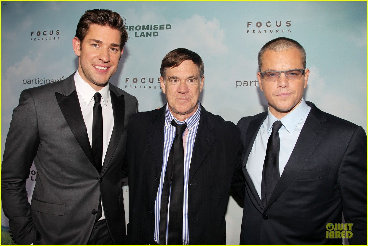 matt damon john krasinski promised land new york premiere 24