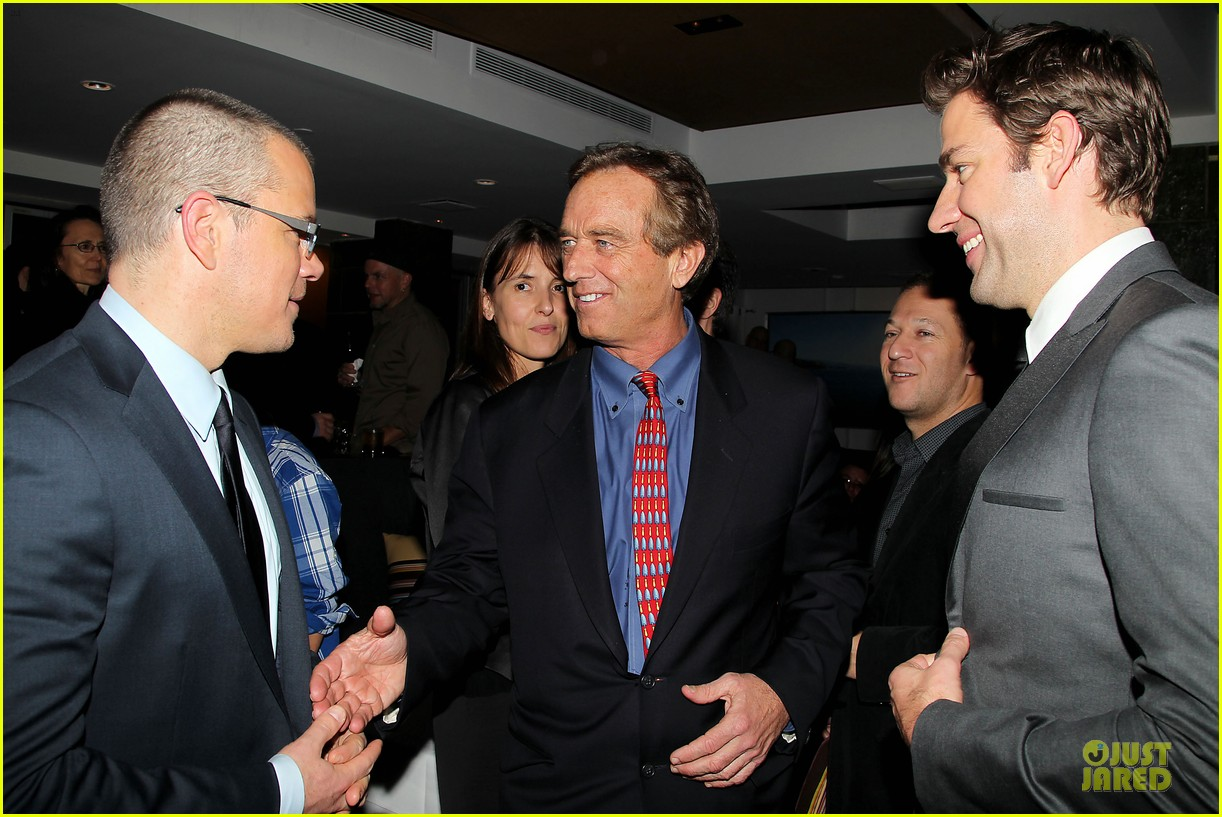 matt damon john krasinski promised land new york premiere 322769429