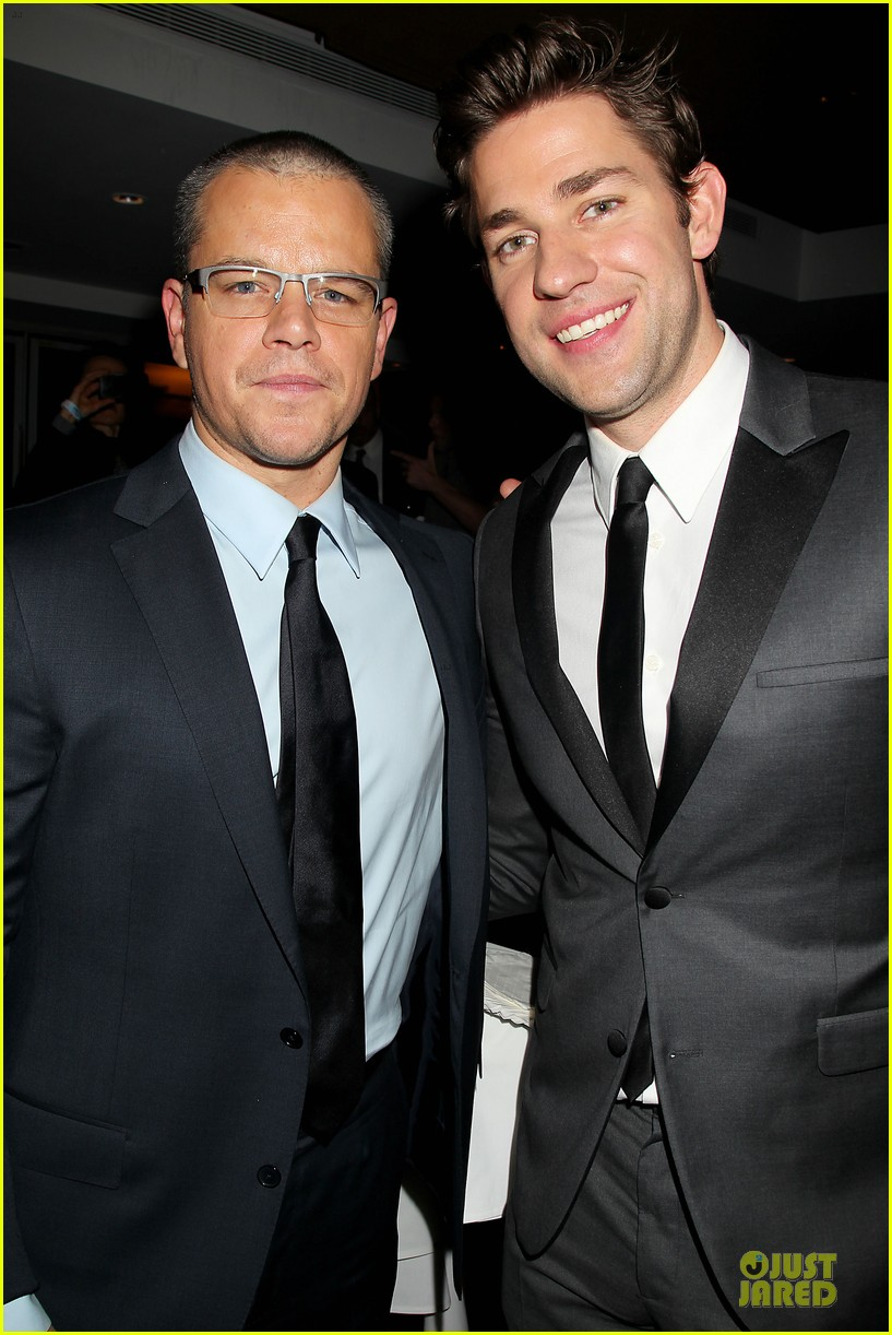 matt damon john krasinski promised land new york premiere 332769430