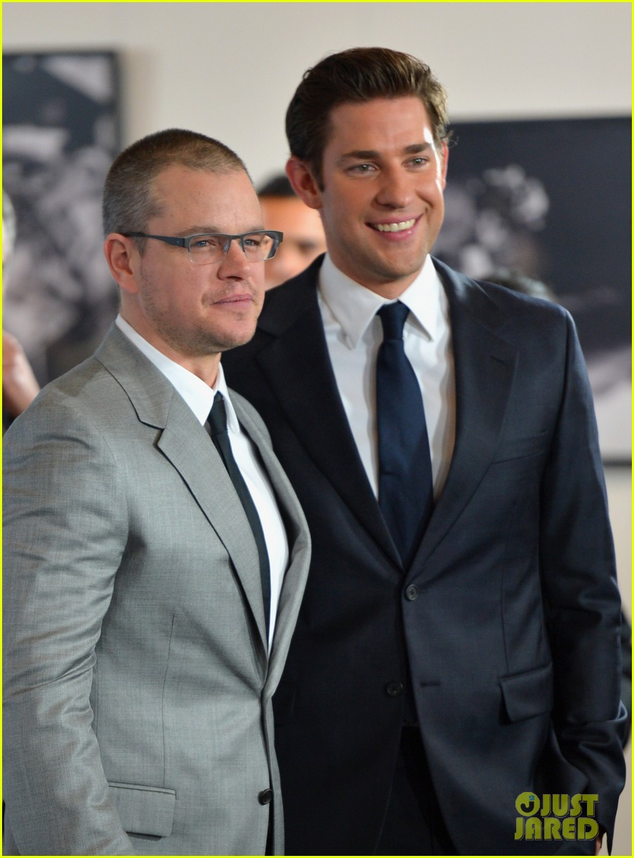 matt damon john krasinski promised land premiere 042771068
